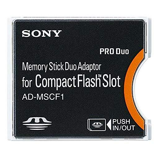 Sony AD-MSCF1 Memory Stick Duo-Adapter für Compact Flash-Slot