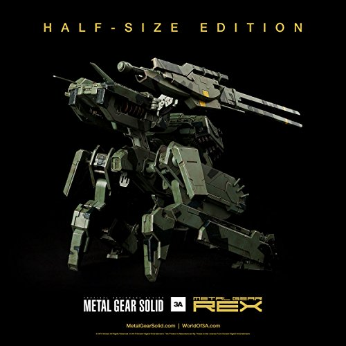 Metal Gear Solid Metal Gear Rex Half-Size Edition Figura