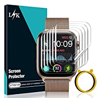 【Compatibility】Specially designed for Apple Watch Series 6 5 4 Apple Watch SE 44mm Series 3 2 1 42mm only, NOT for any other models. 【Self-Repair Technology】which helps eliminate minor scratches on the film all by itself. Significantly reduces dust, ...