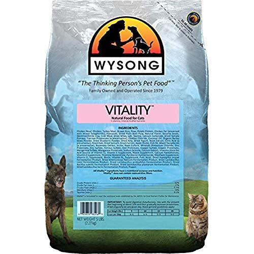 Wysong Vitality Adult Feline Formula Dry Diet Cat Food