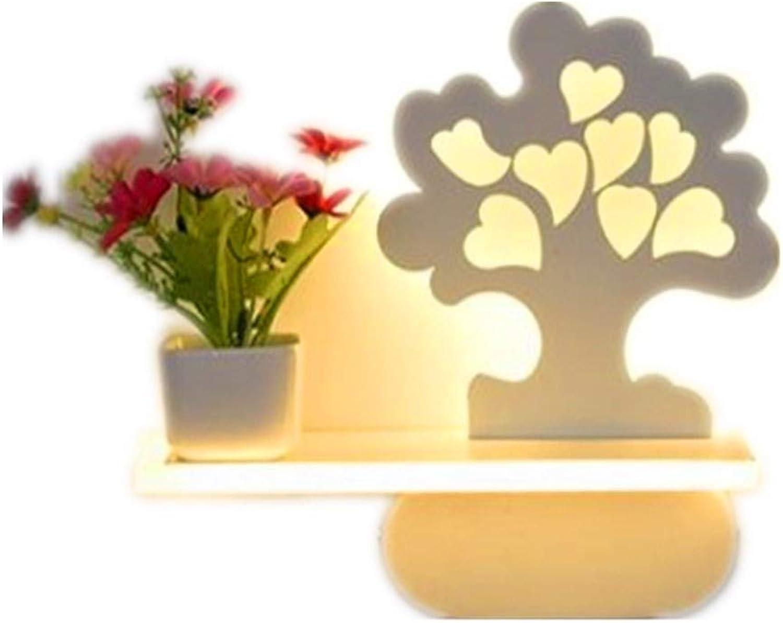 Wandleuchten Modernes unbedeutendes Wohnzimmerschlafzimmer das personifizierte Acrylwandlampe Liebesbaum modelliert