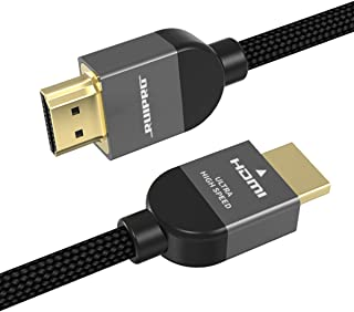 RUIPRO 8K - Cable HDMI 2.1 (2 m, ultra HD, alta velocidad, 48 Gbps, 8 K@60 Hz, 4 K@ 120 Hz, HDR dinámico, HDR eARC HDCP 2....
