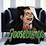 Jacob Cook 3D Print Slappy Goosebumps Blanket Super Soft Throw Blanket for Bedroom and Couch Warm for Kids and Adults Outdoor Travel 50'x40'