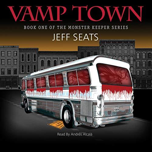Vamp Town audiobook cover art