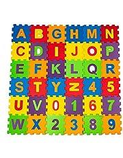 Çocuk Oyun Karosu - Eva Puzzle Yer Matı - Harfler ve Sayılar