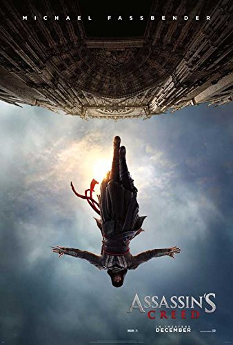 Assassin's Creed Movie POSTER 27 x 40, Michael Fassbender, Marion Cotillard, A, MADE IN THE U.S.A.