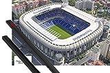 1art1 Fußball Poster (91x61 cm) Real Madrid, Stadion
