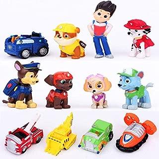 Paw Patrol Snow Slide Toys 12 PCS