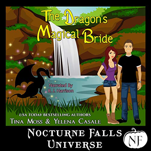The Dragon's Magical Bride audiobook cover art