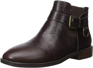 حذاء برقبة حريمي سوزان للكاحل من ايرو سولس, (Brown Leather), 38 EU
