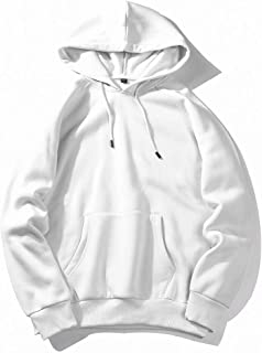 MogogoMen Various Colors Hipster Relaxed Fit Pocket Hooded Sweatshirt