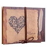 Álbum de recortes de acordeón Álbum de fotos DIY Kraft Journey Diary Cuaderno de memoria de estilo vintage con lindas pegatinas puede ser un atractivo regalo de manualidades para Navidad Amigos Famili