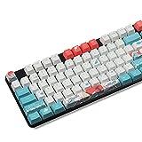 Keycaps, 104 Teclas OEM PBT Keycaps Conjunto Completo Keycap PBT Sublimación de Tinta Keycap para GK61 Cherry MX Teclado mecánico (vendi Solo keycap)