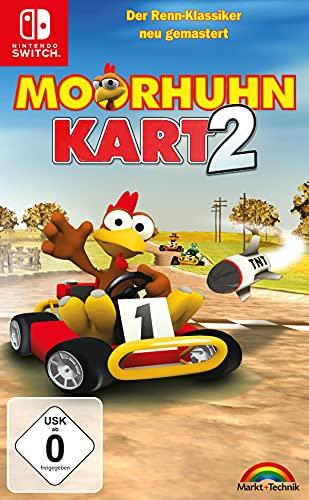 Moorhuhn Kart 2 - Der Renn Klassiker für Nintendo Switch