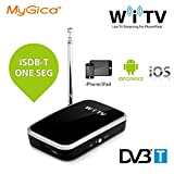 MyGica mobile Receptores de TDT sintonizador de TV inalámbrico y móvil para DVB-T -Para iPhone / iPad / Android Teléfono inteligente / tablet - reloj Digital TV (WiFi TV)