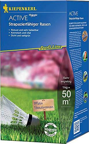 Rasensamen - Profi-Line Active - Strapazierfähiger Rasen (1 kg) von Kiepenkerl