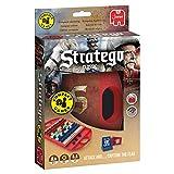 Jumbo Stratego Compact Juego de Mesa de Estrategia para Llevar de Viaje a Partir de 8 años, Color (19819)
