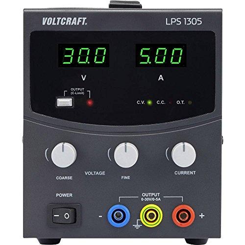 Voltcraft LPS1305 Labornetzgerät, einstellbar 0-30 V/DC 0-5A 150W Anzahl Ausgänge 1 x