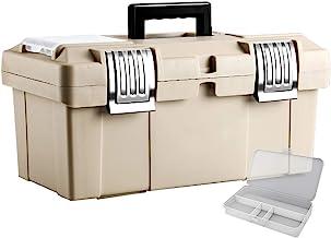 Gereedschapskist opslag Portable Manual Toolbox rvs slot en Buckle Portable Tool Storage Box en kunststof onderdelen Box G...