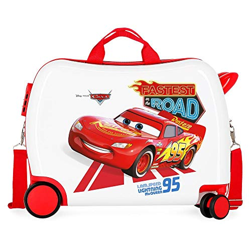Disney Cars Good Mood Maleta Infantil Multicolor 50x38x20 cms Rígida ABS Cierre...