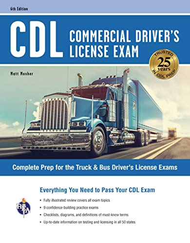 Compare Textbook Prices for CDL - Commercial Driver's License Exam, 6th Ed.: Everything You Need to Pass Your CDL Exam CDL Test Preparation Sixth Edition, Revised Edition ISBN 9780738612447 by Mosher, Matt,Allen, John