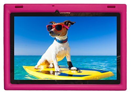 Bobjgear Bjgrlnxf1610 10 10 Inch Tablet Case Pink with Case for Lenovo Tb-X103F and Tab 2 A10-30, 25.4 cm (10'), Pink