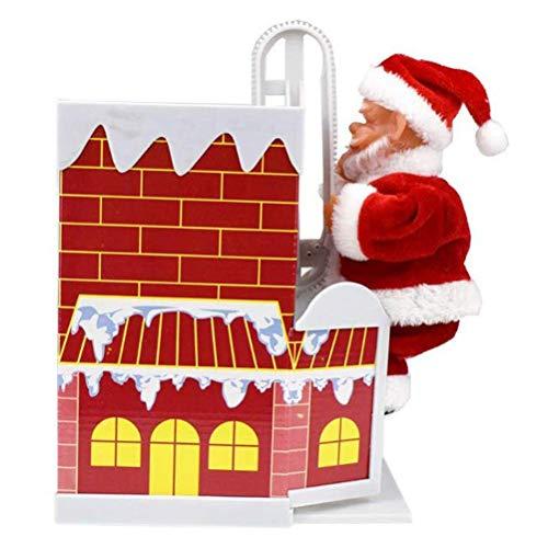 Weihnachtsmann Kletternde Kamin Puppe Elektrisches Spielzeug- Kletternde Kamin-Puppe Santa Clauss