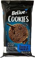 Cookie Double Chocolate Zero Açúcar sem Glúten sem Lactose Belive 34g (4 unidades)