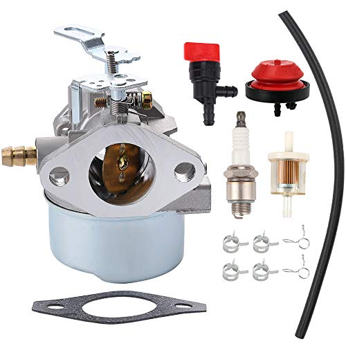 Tecumseh 640349 640052 640054 LH318SA LH358SA Carburetor Primer /& Fuel Filter