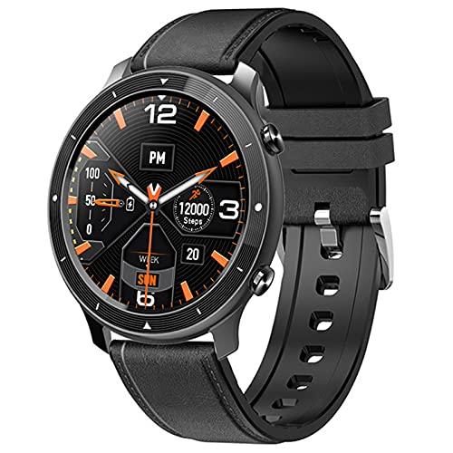Smartwatch Reloj Inteligente Hombre Barato Con Bluetooth Con Ip68 Monitor De SueñO Y PulsóMetro Reloj Deportivo PodóMetro CaloríAs Pulsera De Actividad Inteligente 1.28' Para Ios Y Android Hombre