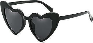 サングラス 女性 ハートシェイプ PCフレーム リムメド クラシック レトロ 個性 運転, ファッションサングラス