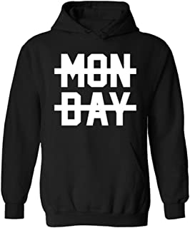 Mens Monday Crossed Out Niall Horan Funny Slogan Pullover Hoodie