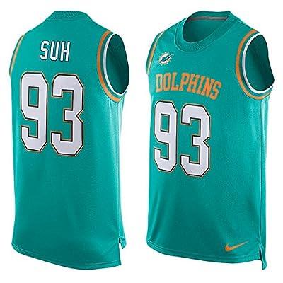 Nike Miami Dolphins Ndamukong Suh Sleeveless Basketball Jersey Mens XL