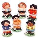 Günthart 12 Zucker Fußballer in 3D | verschiedenen Farben