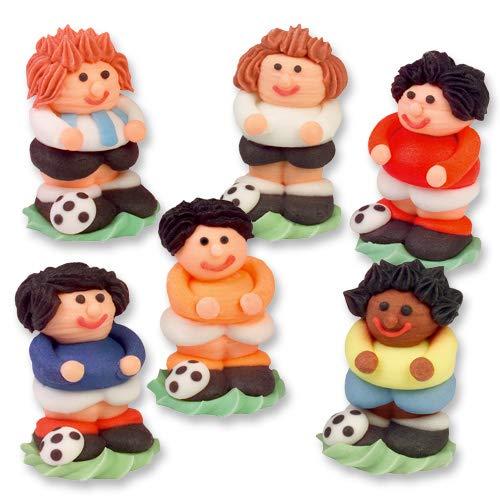 Günthart 24 Zucker Fußballer in 3D   verschiedenen Farben   1er Pack (1 x 210 g)