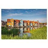 artboxONE Poster 45x30 cm Städte Groningen Reitdiephaven -