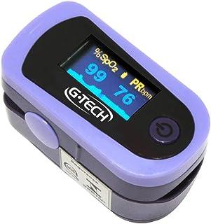 Oximetro Digital De Pulso Portátil De Dedo G-tech Oled Graph