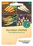 Bingenheimer Saatgut Karotten-Vielfalt Bunte Möhren Mischung demeter bio für ca. 1000 Pflanzen