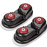 GANGUOLA Cam Cleat Ball Bearing Fast Entry Cam Cleat for Line Sizes...