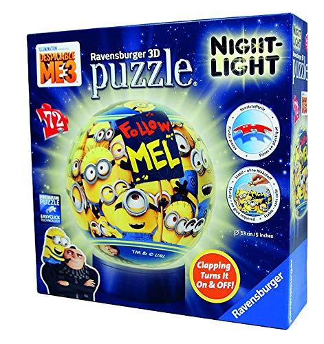 Ravensburger 3D Puzzle - Night-Light - Minions