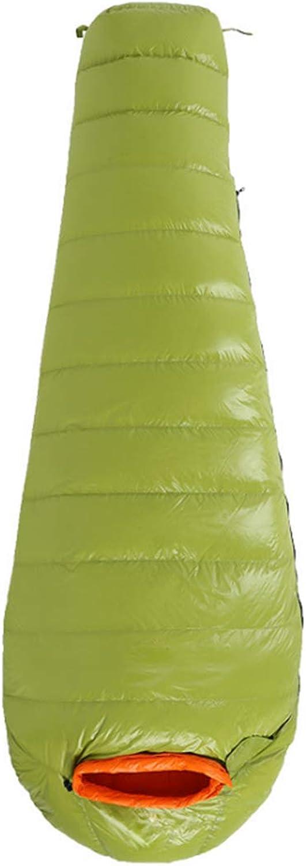 JOYIYUAN Camping Schlafsack Komfort für Erwachsene warmes Wetter, mit Kompressions Sack