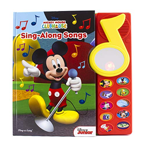 Mickey Mouse Clubhouse - Surprise Mirror Sound Book: Sing-Along Songs – Great Alternative to Toys for Christmas - PI Kids (Play-A-Song)