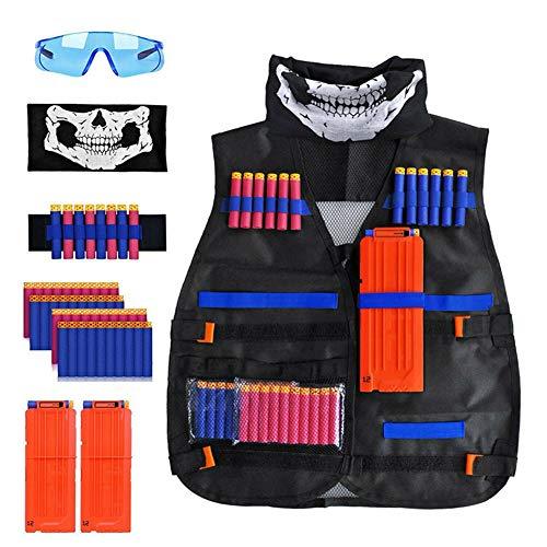 FR&RF Costume Enfants Gilet Tactique Kit Ensemble pour la série Gilet Tactique Jeu extérieur Enfants Holder Kit Accessoires Jouets