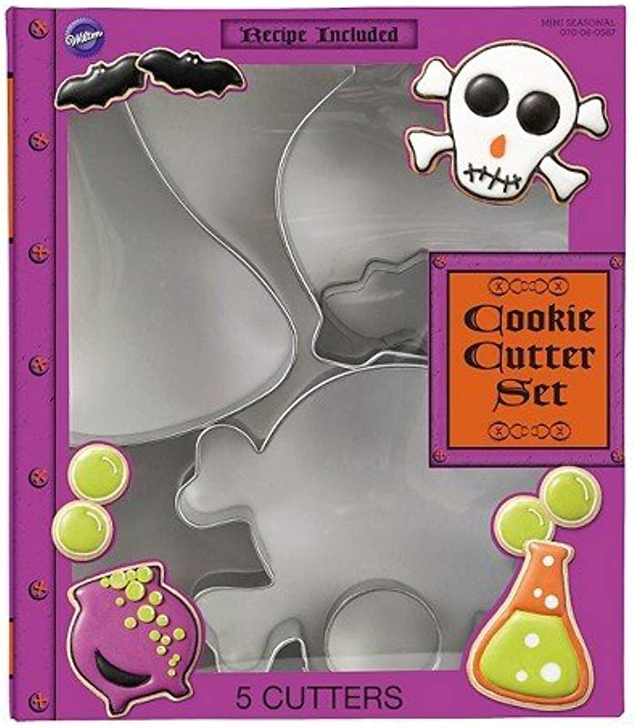 Wilton 5pc Book Of Potions Cookie Cutter Set