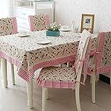 YOUYUANF tovaglietta Quadrata antivegetativa, 100% Fibra di Poliestere, utilizzata per tavoli da Pranzo Interni ed Esterni, ristoranti, Tessuto 150x150cm