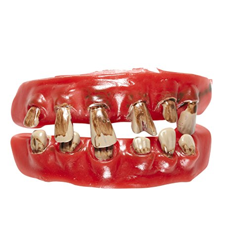 Panelize Schlechte Zähne Faule Zähne Gebiss Alter Mann Asi dreckige Zähne