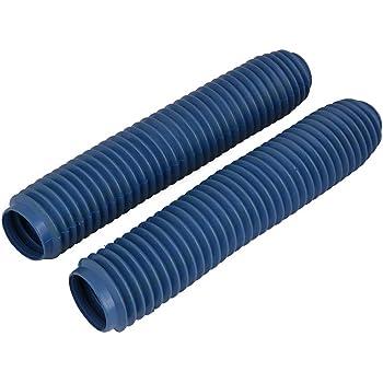 Protection soufflets de fourche bleu diam/ètre 34mm 37mm moto Neuf
