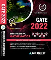 GATE Books: GATE Academy 2022 Engineering Mathematics Previous Year Solved Papers