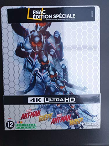Ant-Man and the Wasp SteelBook (4K UHD) + COMIC