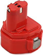 POWERAXIS 12V 3000mAh Ni-MH Atornillador Batería de Repuesto para Makita 1233 1234 1235 1235B 1235F 192696-2 192698-8 192698-A 193138-9 193157-5